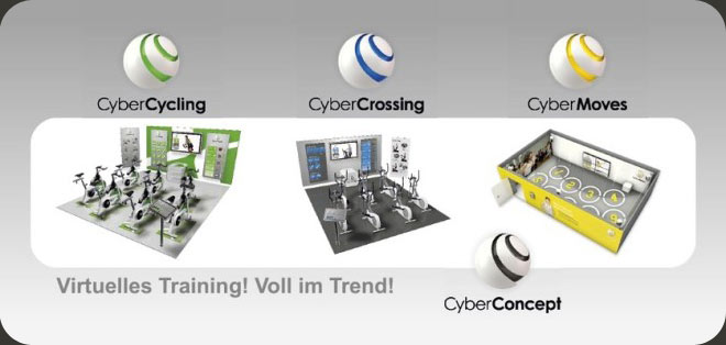 CyberCycling - Virtuelles Training! Voll im Trend!